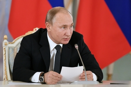 Путин назвал бесперспективными запреты рэп-концертов