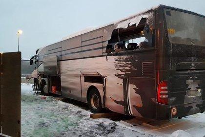 В Швейцарии разбился автобус с россиянами