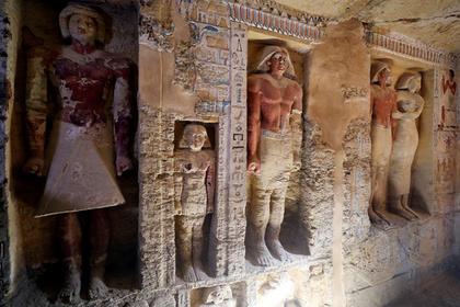 В Египте нашли нетронутой четырехтысячелетнюю гробницу жреца