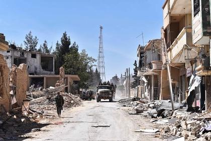 Взрыв смертника на блокпосте в Сирии унес жизни девятерых человек