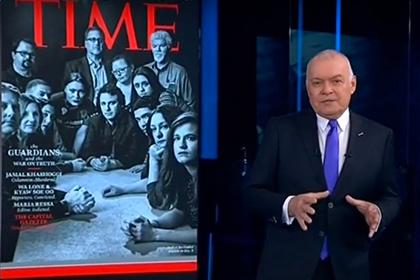 Киселев обесценил заслуги признанной Time человеком года россиянки