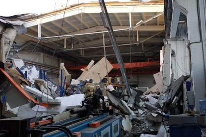 При обрушении здания в Подмосковье пострадали люди