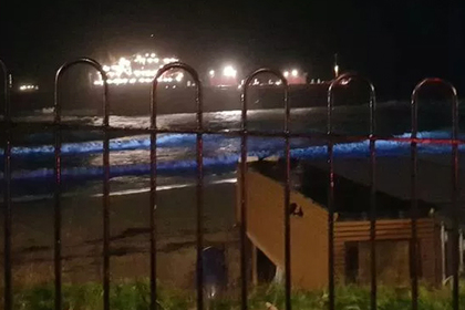 Российский сухогруз сел на мель у берегов Британии