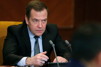 Медведев рассказал о судьбе мусорных полигонов