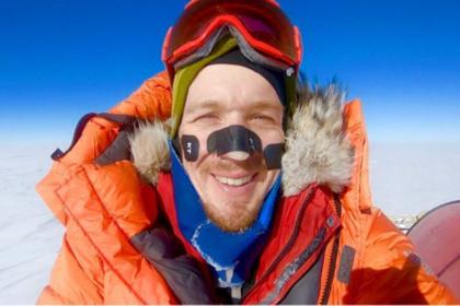 Американец впервые в истории пересек Антарктиду в одиночку