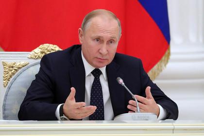 Путин призвал губернаторов мобилизоваться