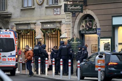 В Вене напали на церковь
