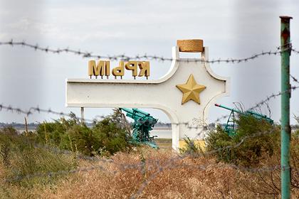Крым оградили от Украины забором