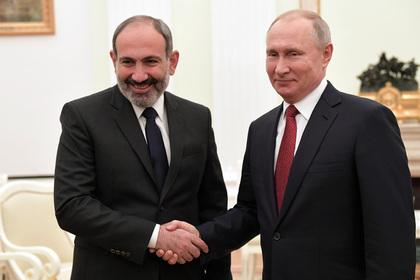 Пашинян и Путин не договорились о цене на газ