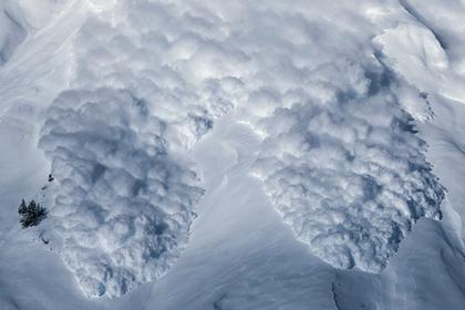 Лавина на 40 минут погребла мальчика под слоем снега