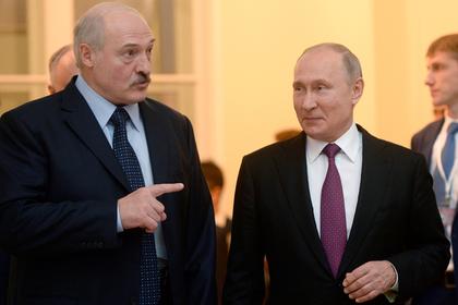 Названа дата новой встречи Путина и Лукашенко