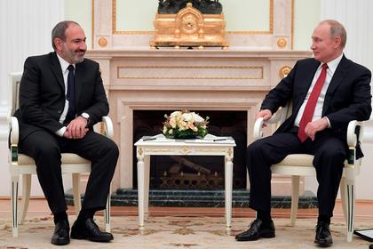 Москва заявила о сдвиге в переговорах по газу с Арменией