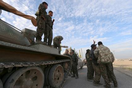 Курды сдружились с Сирией против Турции