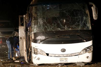 Стали известны последствия взрыва туристического автобуса в Египте