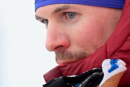 Российский лыжник поскользнулся на финише и остался без победы