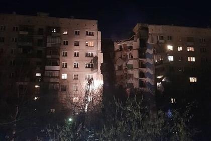 Подъезд жилого дома обрушился при взрыве в Магнитогорске