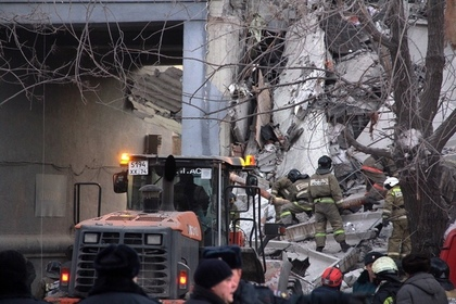 Оценены шансы на спасение людей из-под завалов дома в Магнитогорске