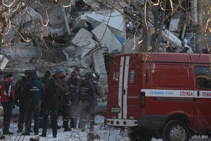 Очевидцы рассказали об обрушении дома в Магнитогорске