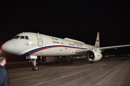 Самолет Путина заметили на пути в Магнитогорск