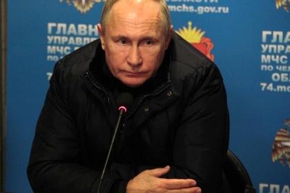 Новогоднее обращение Путина не изменили в связи с событиями в Магнитогорске