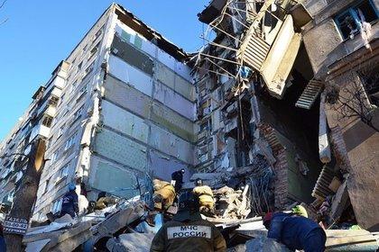 Из-за взрыва в жилом доме в Магнитогорске разрушено 26 квартир
