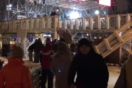 Определена причина обрушения моста в Парке Горького