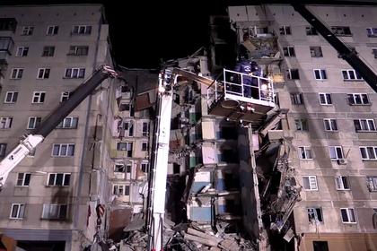 Число жертв обрушения дома в Магнитогорске увеличилось
