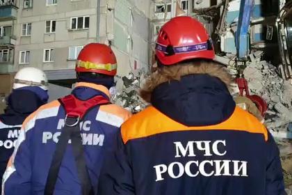 Поисковую операцию на месте обрушения дома в Магнитогорске приостановили