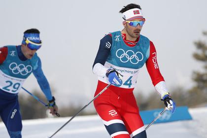 Норвежский лыжник объяснился за оскорбление российских спортсменов