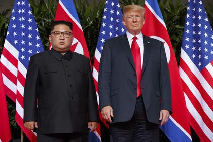 Названо новое место встречи Трампа и Ким Чен Ына