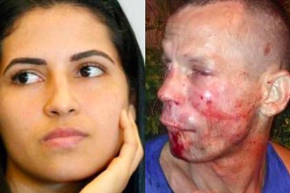 Грабитель напал на девушку-бойца и был избит