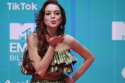Линдси Лохан сравнила себя с Путиным