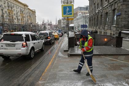 В Москву придет оттепель