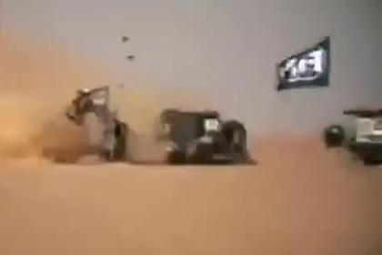 Российский гонщик почти доехал до финиша и попал в страшную аварию