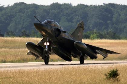 Во Франции рухнул истребитель