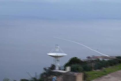 «Мистраль» разбомбил катер в море
