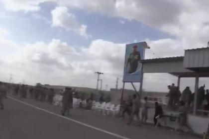 Беспилотник-бомба подорвал военный парад