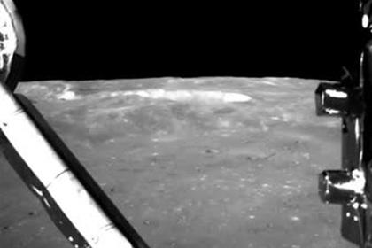 Китай показал посадку на обратную сторону Луны
