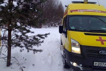 Российские врачи шли два километра по сугробам к самоубийце