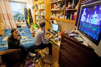 Названа доля живущих без телевидения россиян
