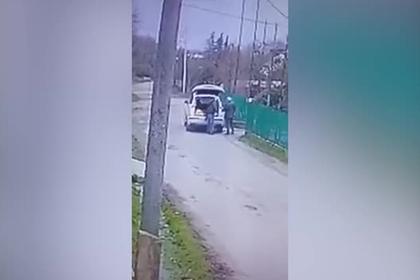 Подрыв российского бизнесмена в Абхазии попал на видео