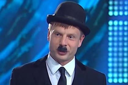 Украинский депутат нарядился Чарли Чаплиным назло Зеленскому