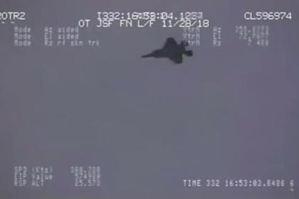 «Звериная» бомбежка F-35 попала на видео