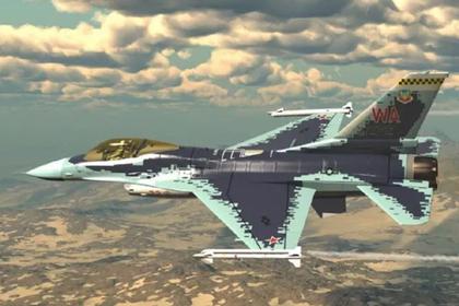 F-16 скопировал Су-57