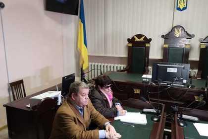 Зачинщицу драк на российском ТВ отправили под стражу на Украине на два месяца