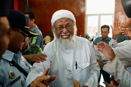 Лидера индонезийских террористов досрочно выпустят из тюрьмы