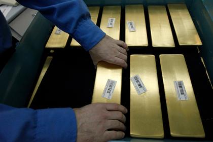Российские запасы золота выросли до рекорда