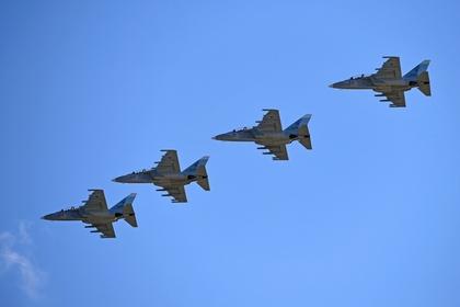 Россия поставила Мьянме учебно-боевые самолеты
