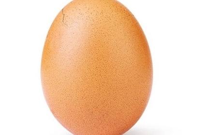 Поставившее мировой рекорд по лайкам яйцо треснуло