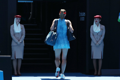 Шарапова вылетела с Australian Open